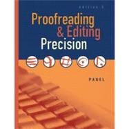 Proofreading & Editing Precision (Book with CD- ROM)