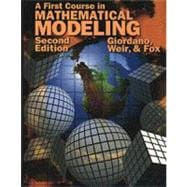 A First Course in Mathematical Modeling (2nd)