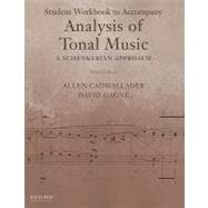 Wkbk to accompany: Accompany Analysis of Tonal Music : A Schenkerian Approach
