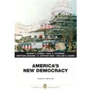 America's New Democracy (Penguin Academics Series)