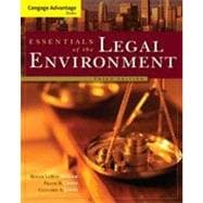 Cengage Advantage Books: Essentials of the Legal Environment, 3rd Edition