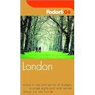 Fodor's London 2004