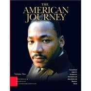 American Journey, The: Teaching and Learning Classroom Edition, Volume 2