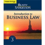 Cengage Advantage Books: Introduction to Business Law, 3rd Edition