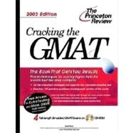 Cracking the GMAT with Sample Tests on CD-ROM, 2003 Edition