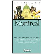 Fodor's Citypack Montreal, 2nd Edition