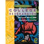College Keyboarding, Microsoft Word 2000, Lessons 1-60 Text/Data Disk Package
