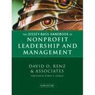 The Jossey-Bass Handbook of Nonprofit Leadership and Management