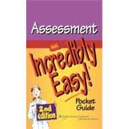 Assessment: An Incredibly Easy! Pocket Guide