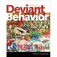 Deviant Behavior Plus MySearchLab with Pearson eText -- Access Card Package