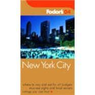 Fodor's New York City 2004