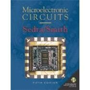 Microelectronic Circuits  includes CD-ROM