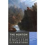 Norton Anthology of English Literature Vol. D : The Romantic Period