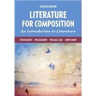 Literature for Composition Plus MyLiteratureLab without Pearson eText -- Access Card Package