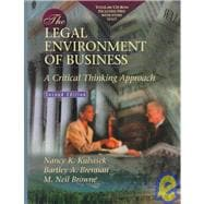 The Legal Environment of Business: A Critical Thinking Approach