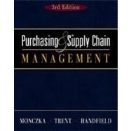 Purchasing And Supply Chain Management with Infotrac