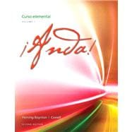 �Anda! Curso elemental, Volume 1 Plus MySpanishLab with eText one semester -- Access Card Package