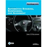 Automotive Steering, Suspensiond Alignment Value Package (includes NATEF Correlated Job Sheets for Automotive Steering, Suspensiond Alignment)