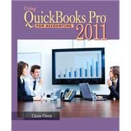 Using Quickbooks Pro 2011 For Accounting + CD PACKAGE