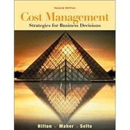 Cost Management : Strategies for Business Decisions with PowerWeb Package