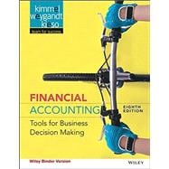 Financial Accounting: Tools for Business DecisionMaking, 8/E