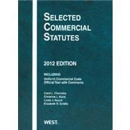 Selected Commercial Statutes 2012