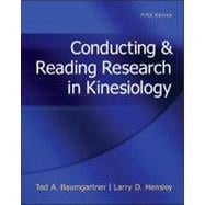 Conducting &amp; Reading Research In Kinesiology