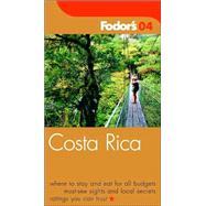 Fodor's Costa Rica 2004