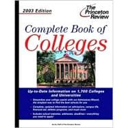 Complete Book of Colleges, 2003 Edition