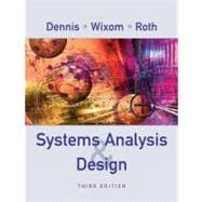 Systems Analysis and Design, 3rd Edition