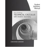 Student Solutions Builder Manual for Kuhfittig's Technical Calculus with Analytic Geometry, 5th