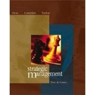Strategic Management: Text and Cases with PowerWeb and CD