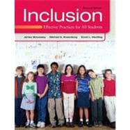 Inclusion Effective Practices for All Students Plus MyEducationLab with Pearson eText -- Access Card Package