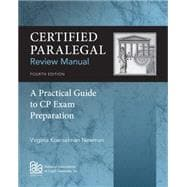 Certified Paralegal Review Manual, 4th