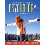 Mastering the World of Psychology