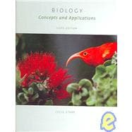 Biology Concepts and Applications, Enhanced Homework Edition (with CD-ROM, Cover Sheet, Audio Book PAC, and BiologyNOW�-Personal Tutor, InfoTrac PAC)