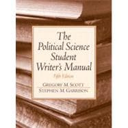 Political Science Student Writer's Manual