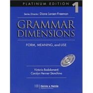Grammar Dimensions: Form, Meaning, and Use : Platinum