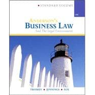 Anderson�s Business Law & Legal Environment, Standard
