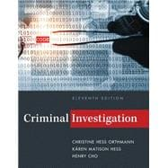 Criminal Investigation, 11th Edition