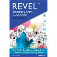 REVEL for Public Speaking Handbook -- Access Card