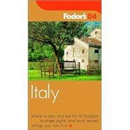 Fodor's Italy 2004