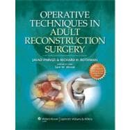 Operative Techniques in Adult Reconstruction Surgery