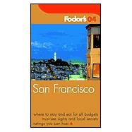 Fodor's San Francisco 2004
