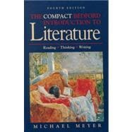 Compact Bedford Introduction to Literature : Reading, Thinking, and Writing