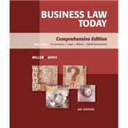 Study Guide for Miller/Jentz�s Business Law Today: Comprehensive