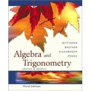 Algebra and Trigonometry : Graphs and Models Graphing Calculator Manual Package