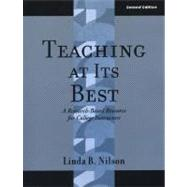 Teaching at Its Best: A Research-Based Resource for College Instructors, 2nd Edition