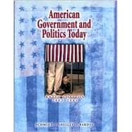 American Government and Politics Today, Brief Edition 2003-2004 (with InfoTrac)