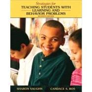 Strategies for Teaching Students with Learning and Behavior Problems (with MyEducationLab)